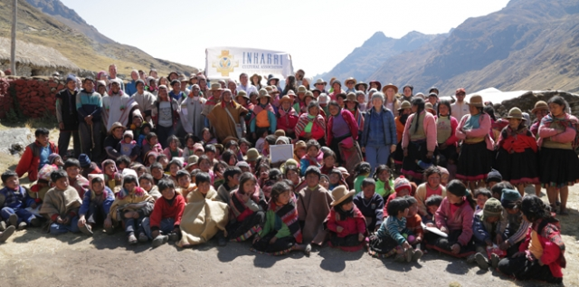 Pneuma visits the Q'eros community Quico in Peru